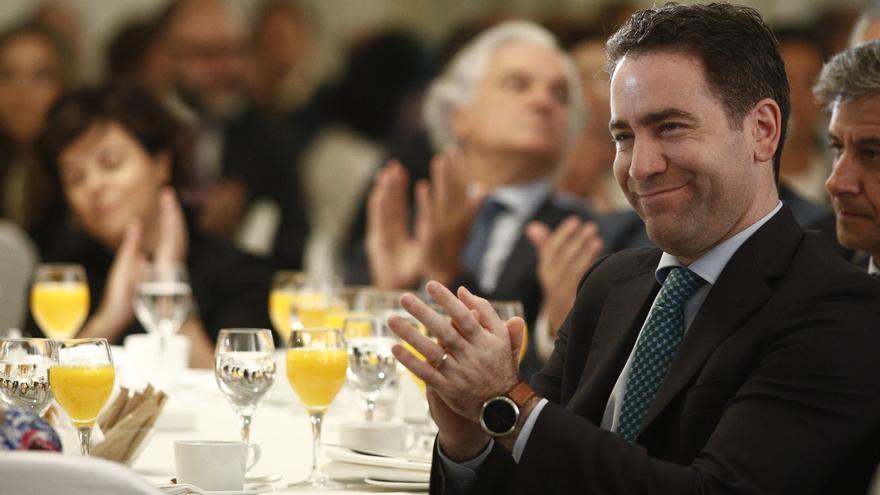 "Vox en Murcia recalca que es ""absolutamente falso"" que Abascal pactara con García Egea una abstención"