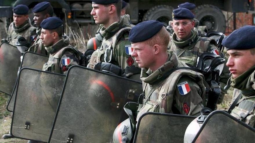 Francia enviará en enero a Georgia instructores en el uso de baterías antiaéreas