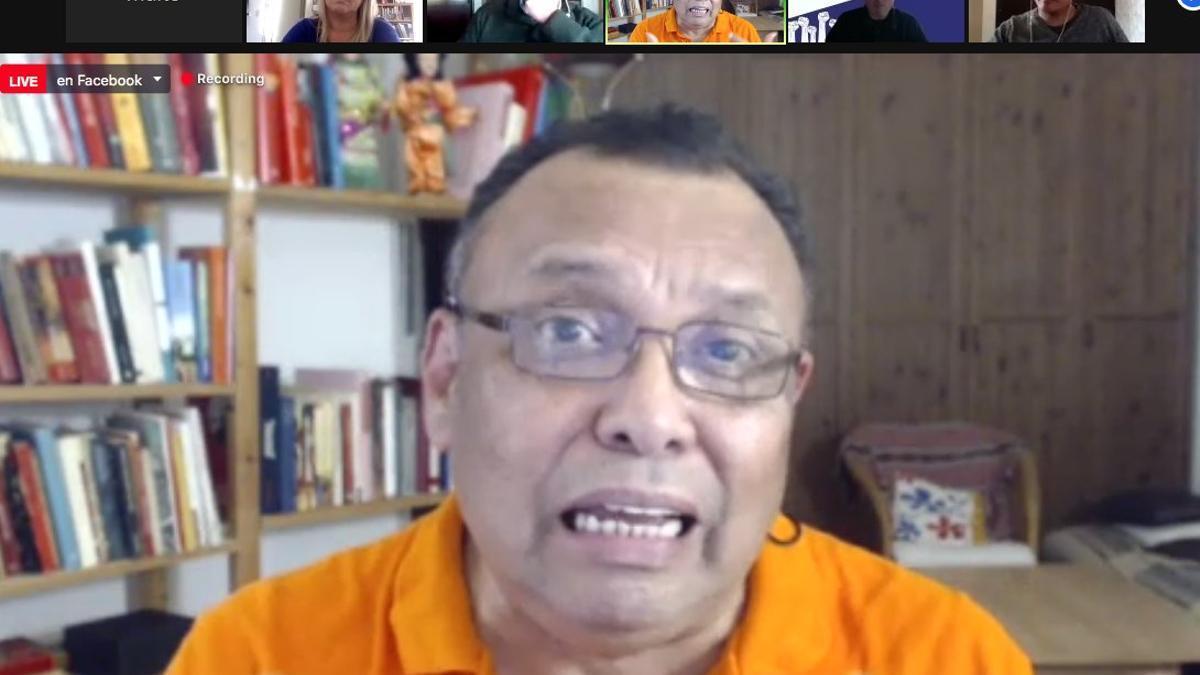 Héctor Mairena, portavoz del partido opositor nicaragüense Unamos