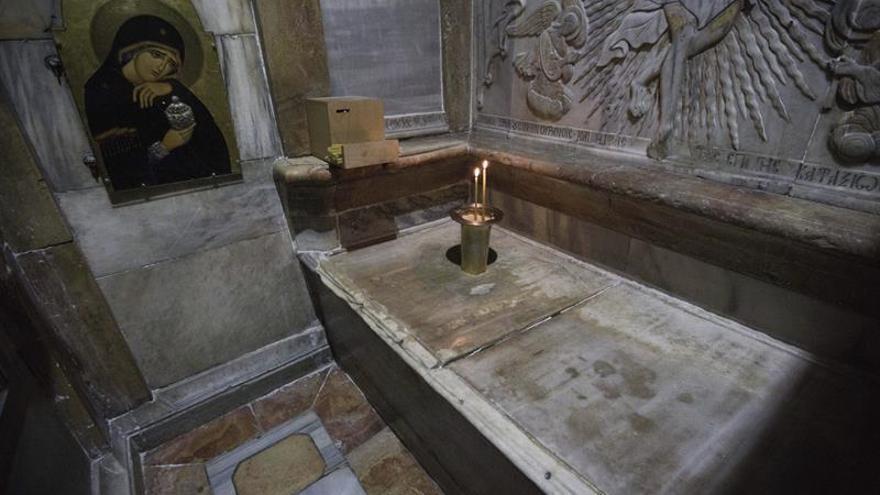 Terminan las obras de restauración de la Tumba de Jesucristo
