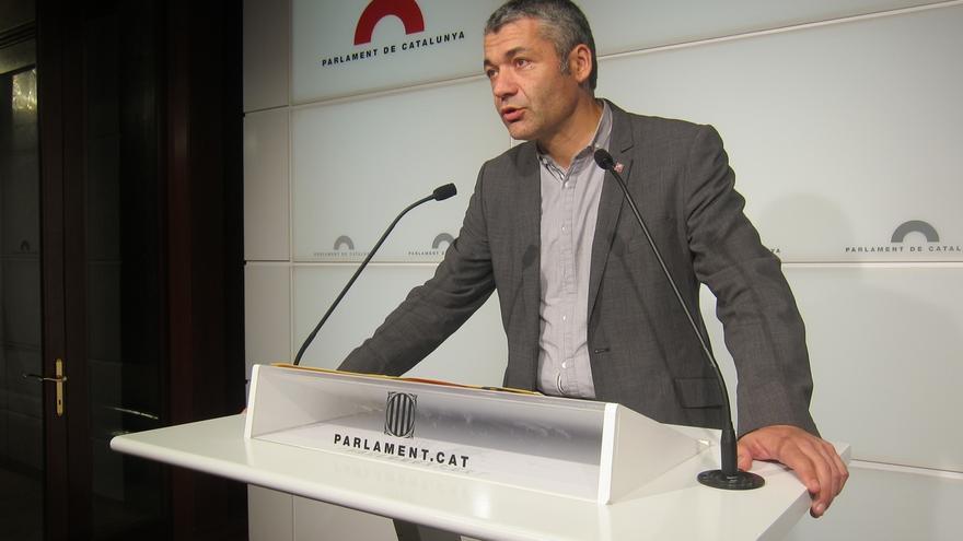 """ERC coincide con el jefe del Ejército en que el Estado está """"débil"""" ante el proceso soberanista"""