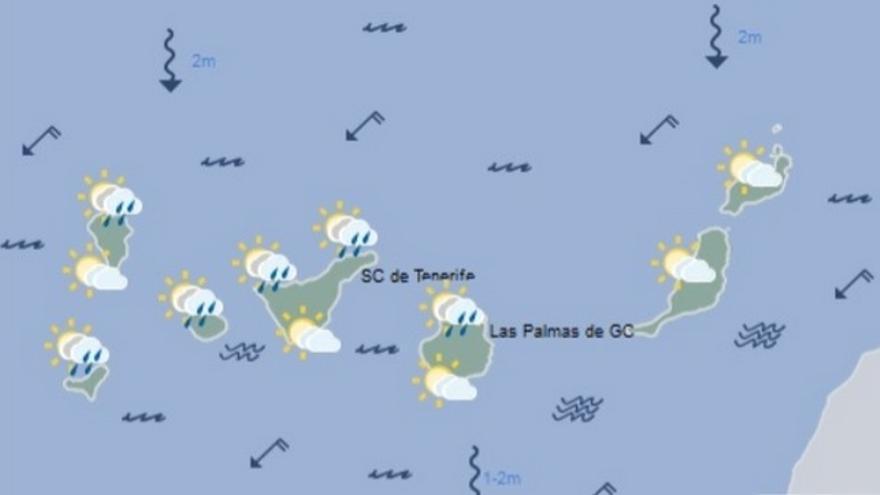 El tiempo en Canarias para este domingo, 11 de febrero