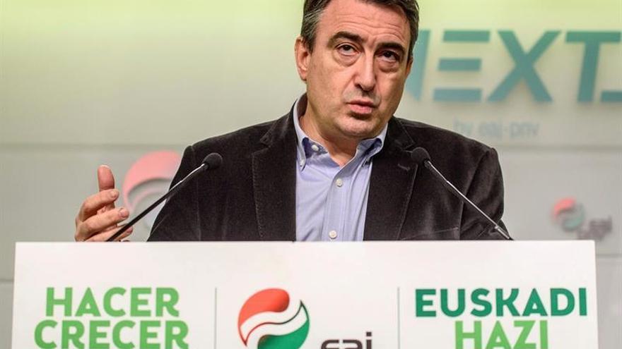 El PNV lamenta que el Rey ignore aspiraciones nacionales de Cataluña y Euskadi