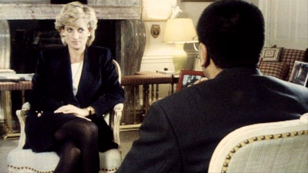 Diana de Gales, en su entrevista con 'Panorama'
