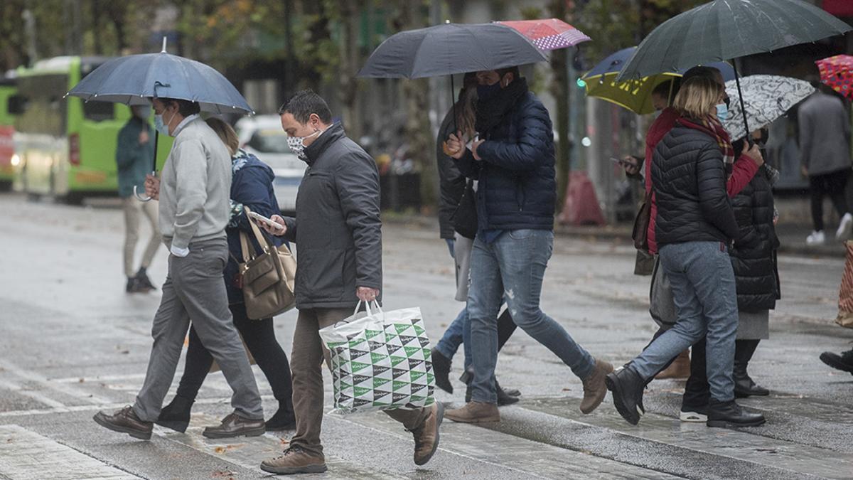 Días de paraguas y sin paraguas