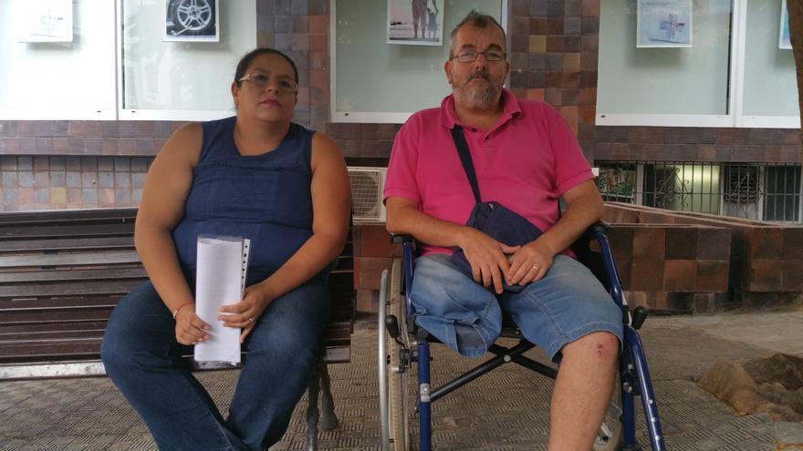 Susana Becerril y José Ángel Fernández viven una situación económica límite. Foto: LUZ RODRÍGUEZ.