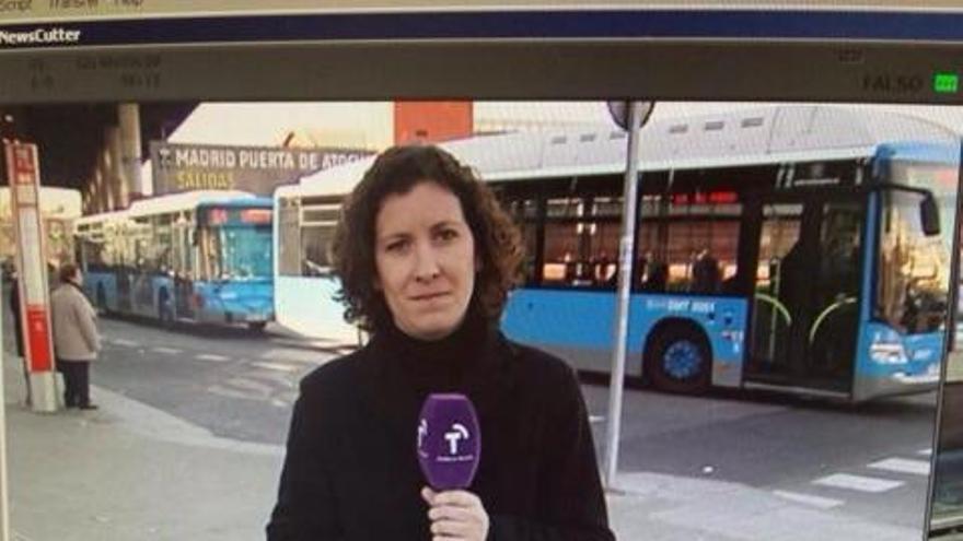 Pieza de Castilla-La Mancha TV censurada por aparecer la redactora vistiendo de negro / Foto: EFE