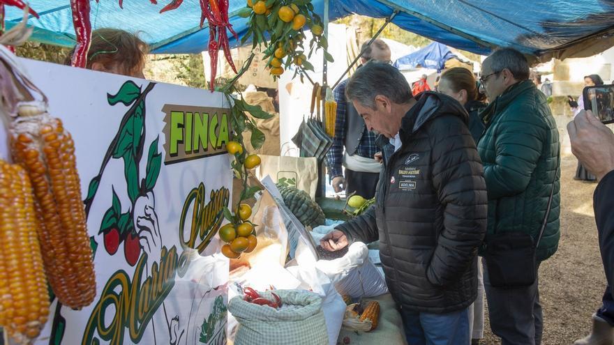 """Revilla ensalza a la Feria de la Alubia y la Hortaliza como """"exponente"""" de la vida rural y de los productos de Cantabria"""