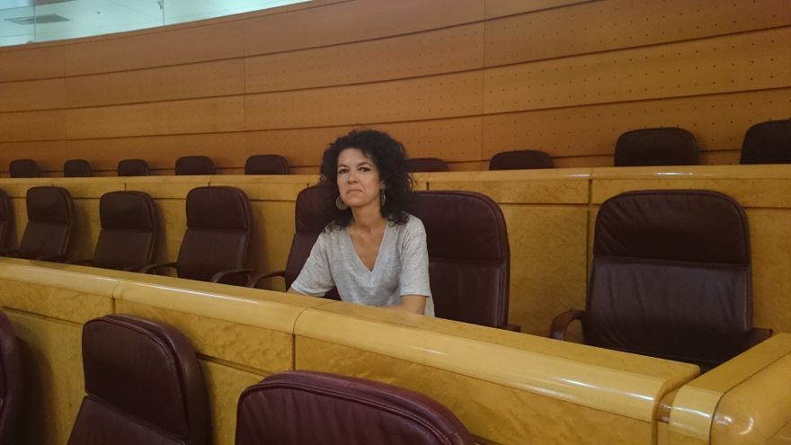 Maribel Mora, nueva senadora de Podemos designada por el Parlamento de Andalucía