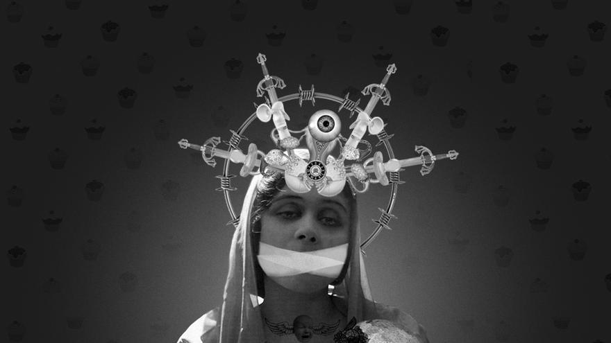 Collage de Señora Milton que ilustra el artículo de Beatriz Gimeno 'Construyendo un discurso antimaternal'