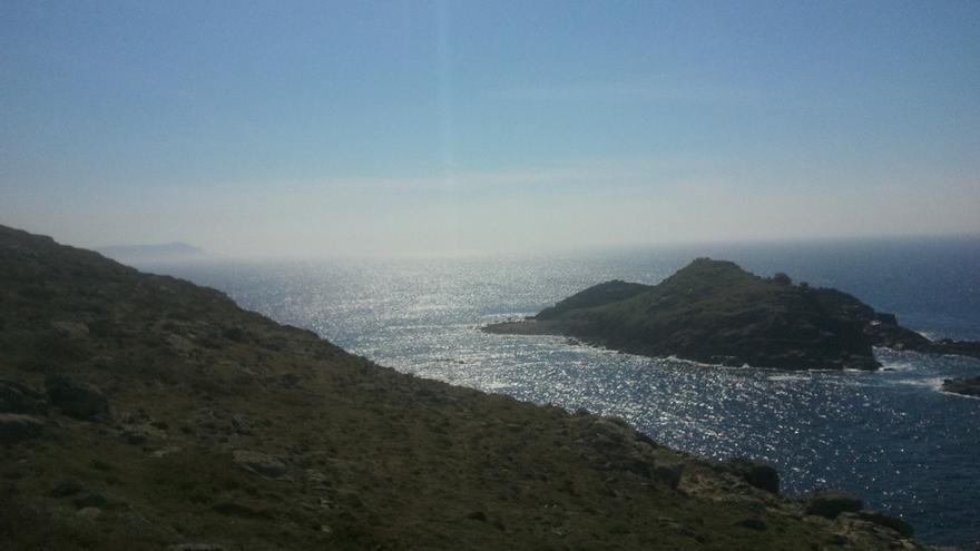 Entorno del Cabo Touriñán, donde el PP autorizó instalar la piscifactoría