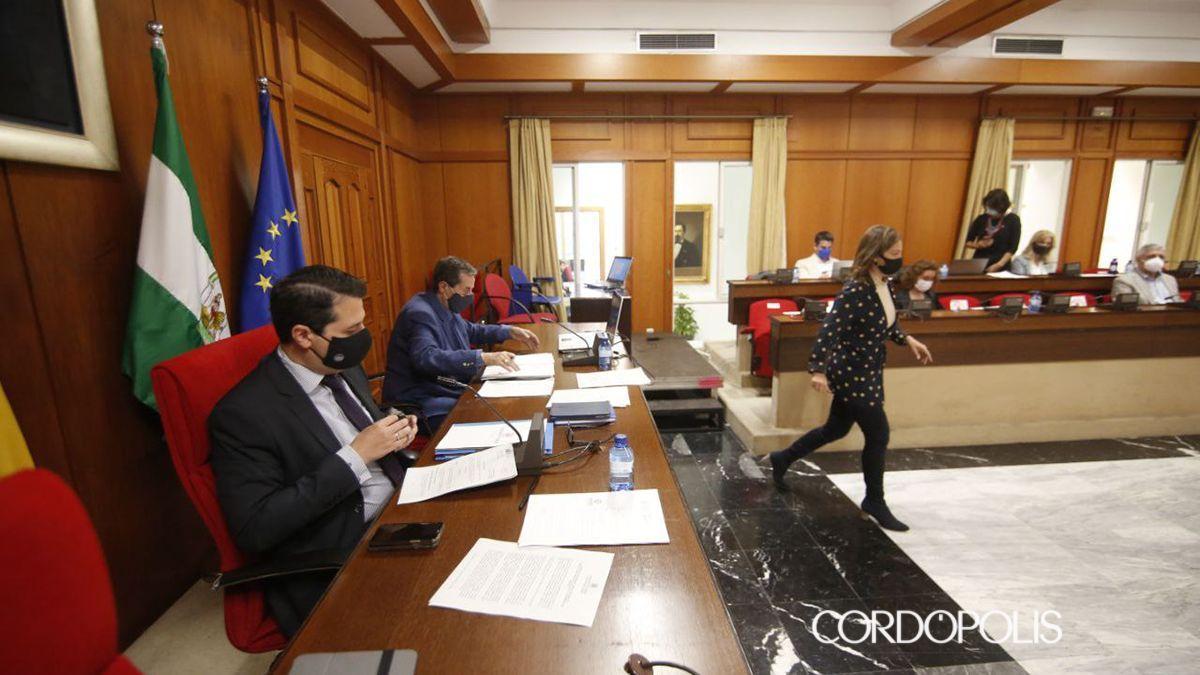 Pleno del Ayuntamiento de Córdoba este 13 de mayo