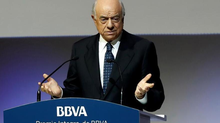 Expresidente de BBVA Francisco González declara como testigo en caso Bankia.