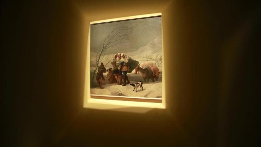 Cartones para tapices de Goya,obras maestras con una nueva mirada en El Prado