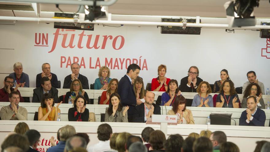 Pedro Sánchez durante el Comité Federal / Foto: Flicker PSOE