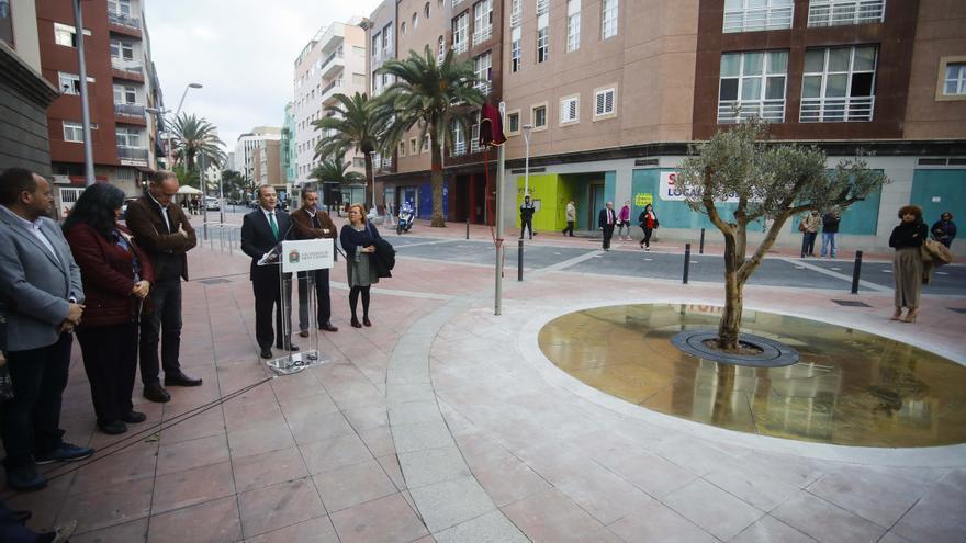 Inauguración de la Plaza de la No Violencia en Memoria a Iván Robaina Rodríguez