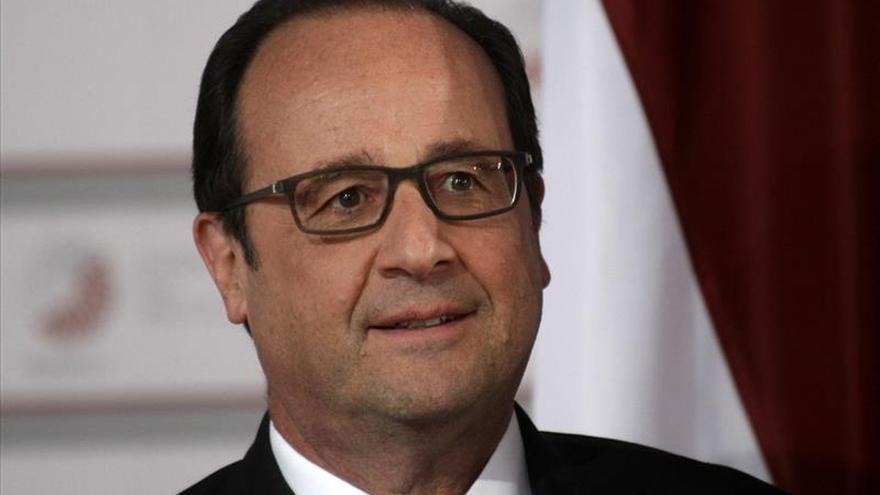 Tres de cada cuatro franceses creen que Hollande es mal presidente