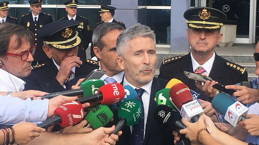 Marlaska resta relevancia al cese del jefe de la Guardia Civil en la Zona de Andalucía nombrado por Zoido