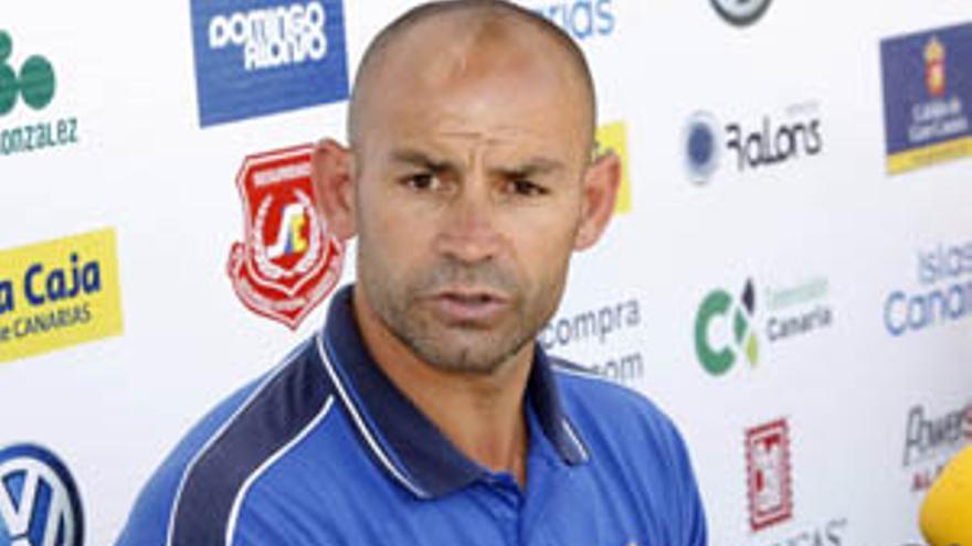 El técnico de la UD Las Palmas, Paco Jémez.