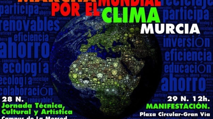 Marcha por el Clima del 29-N en Murcia