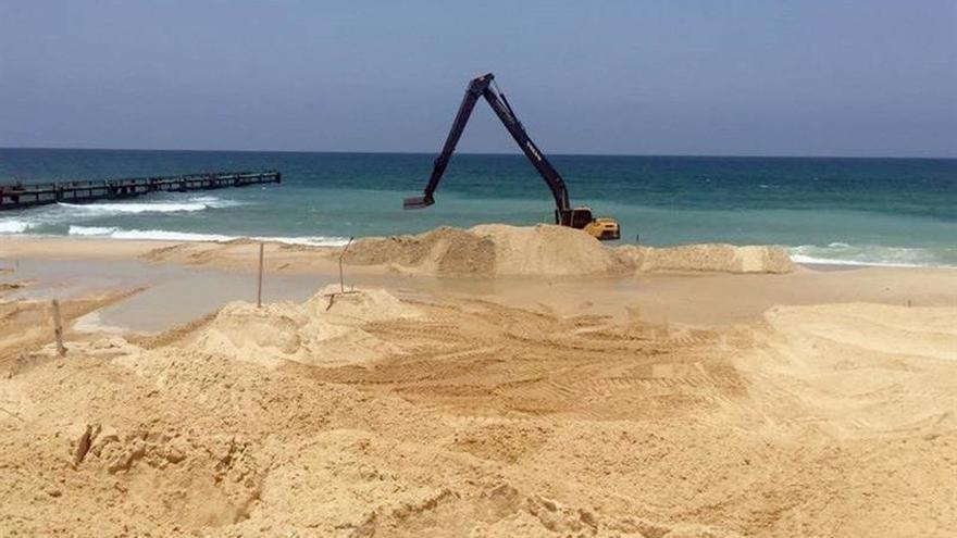 Israel inicia la construcción de una barrera submarina con Gaza