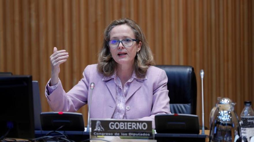 La vicepresidenta de Asuntos Económicos, Nadia Calviño