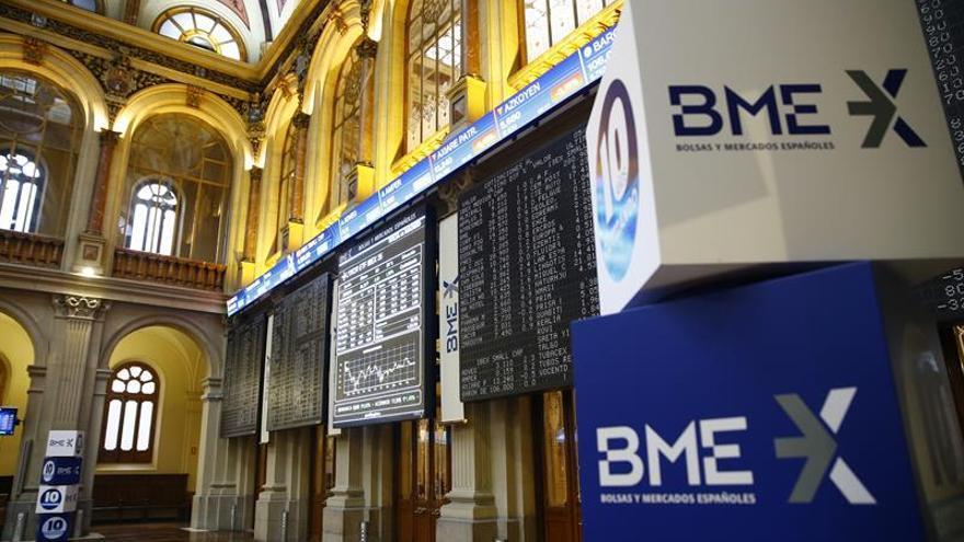 El IBEX 35 abre con una caída del 0,30 % y queda situado en 9.158 puntos