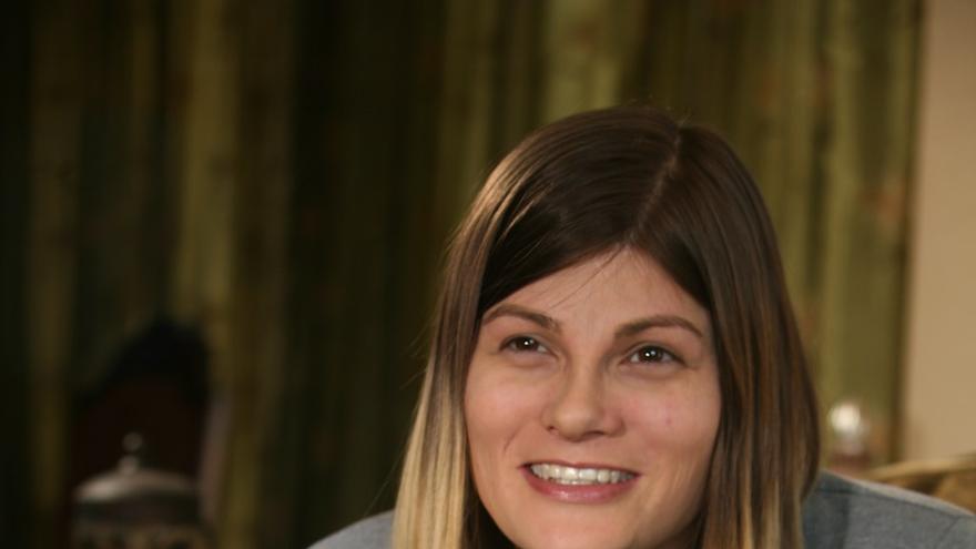 La candidata transgénero a diputada estadounidense Misty Plowwright.