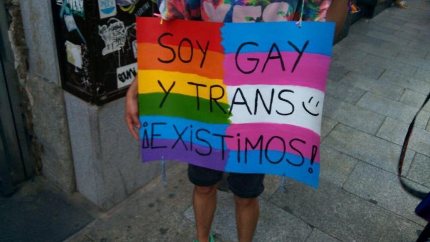 Imagen de archivo de de una acto reivindicativo del colectivo LGTBI.