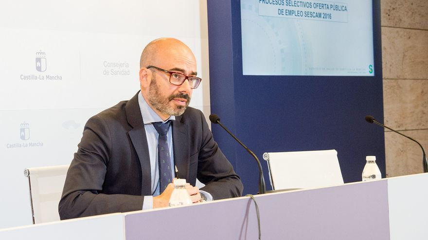 El director de Recursos Humanos del SESCAM, Iñigo Cortázar
