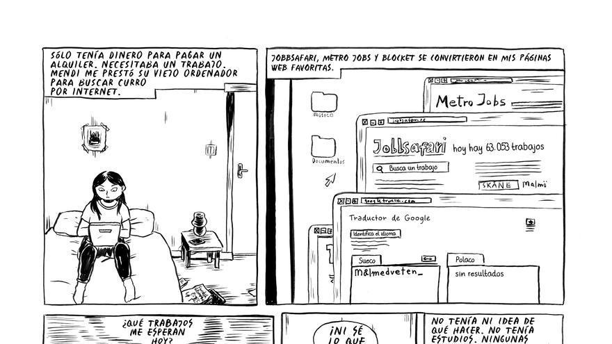 Imagen del cómic Esclavos del trabajo