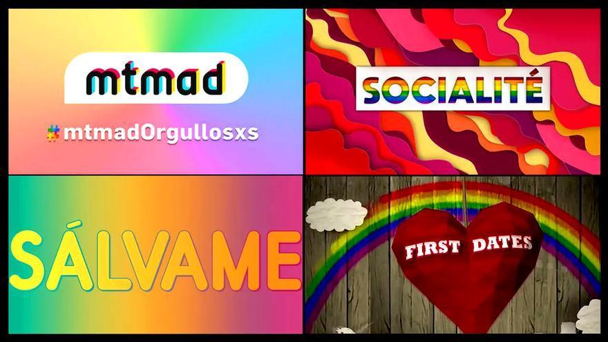 Mediaset ya tiene lista su programación especial con motivo del Orgullo LGTBI+ 2020