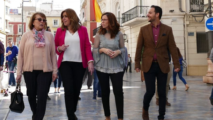 Arranca hoy la carrera de los avales en el PSOE, con Susana Díaz tratando de ganar una primera batalla