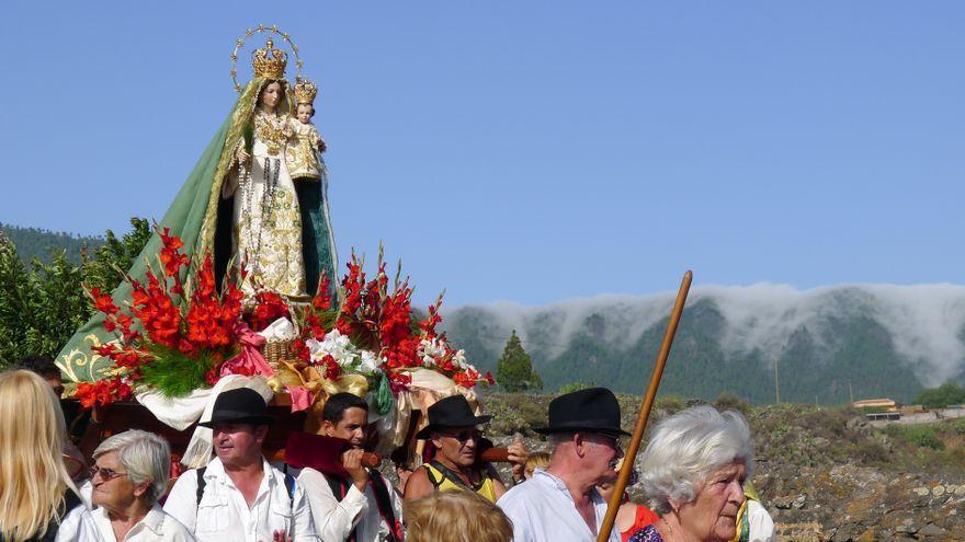 """El Paso venera a la Virgen del Pino con actos """"adaptados a la nueva normalidad"""""""