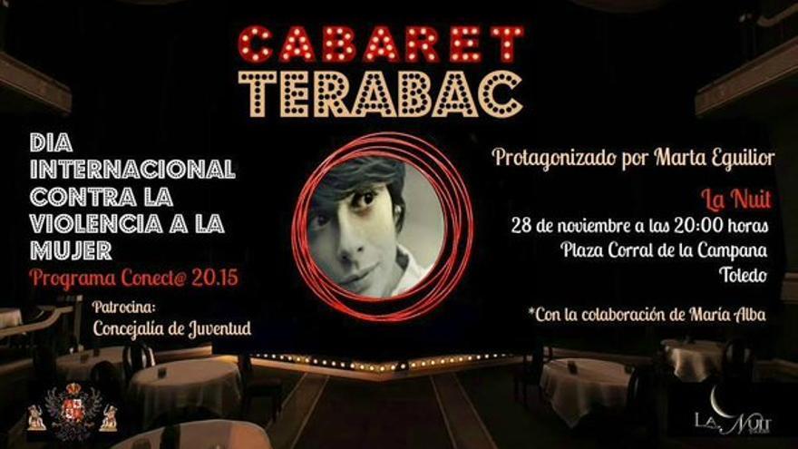 Cartel anunciador de Cabaret-Terabac, en Toledo
