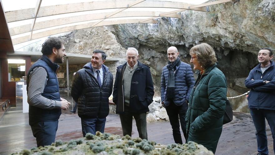 Mañanes anuncia la redacción del proyecto del Centro de Interpretación de Monte Castillo en 2018