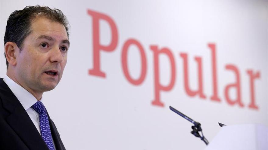 El Banco Popular sigue cayendo y hoy pierde otro 7 % tras la apertura