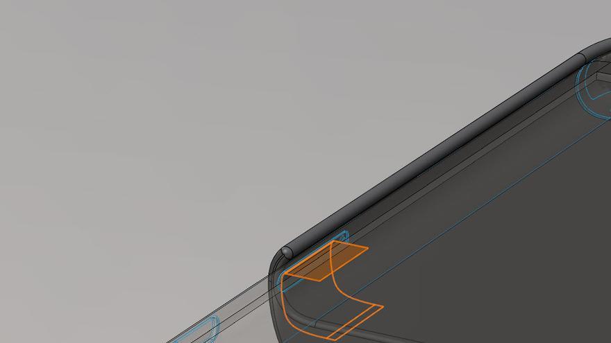 Cómo se engancharía al iPhone el dispositivo