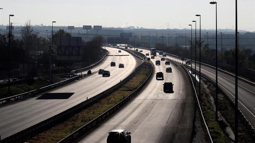Nueve muertos en ocho accidentes de tráfico durante el fin de semana