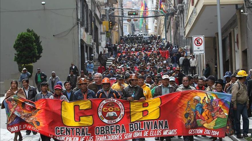 El conflicto sindical en Bolivia se suaviza tras acuerdo con mineros