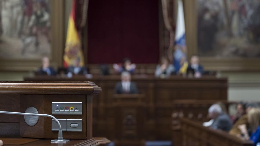 Parlamento de Canarias.