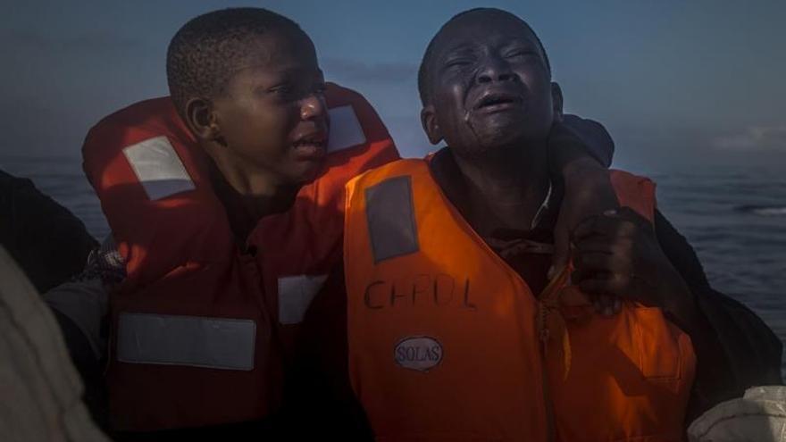 Tres fotógrafos españoles, premiados en el World Press Photo