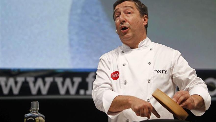 """Joan Roca defiende el papel de la gastronomía como """"puente entre culturas"""""""