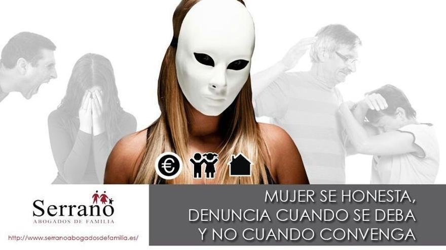 El exjuez Serrano pone en marcha la campaña 'Mujer se honesta, denuncia cuando se deba y no cuando convenga'