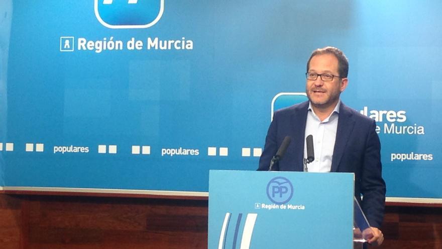 Manuel Durán, coordinador de Acción Local del PP de la Región de Murcia