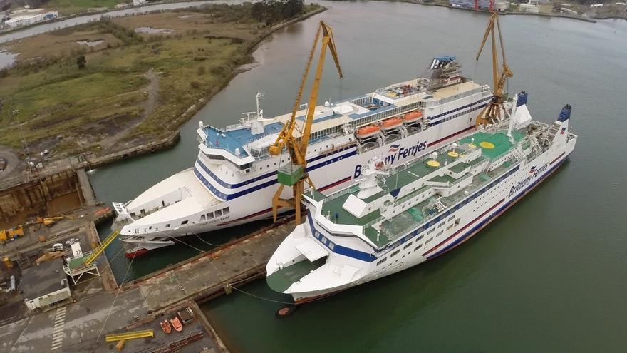 Brittany Ferries transforma tres buques en Astander