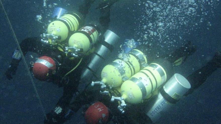 Rescates bajo el agua, a más profundidad, más especializados y demandados