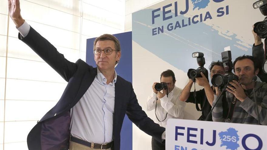 """Feijóo: """"Galicia puede ser una solución para España"""""""