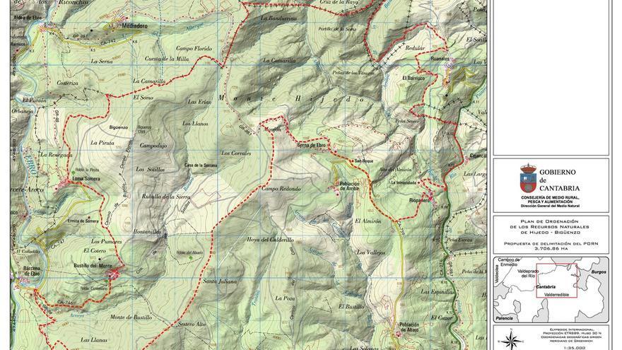 Se inicia el proceso de elaboración del PORN del Monte Hijedo y Bigüenzo