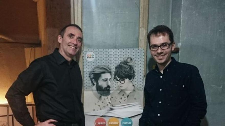 Josep Gregori i Gonçal López-Pampló, editor i director literari de Bromera respectivament
